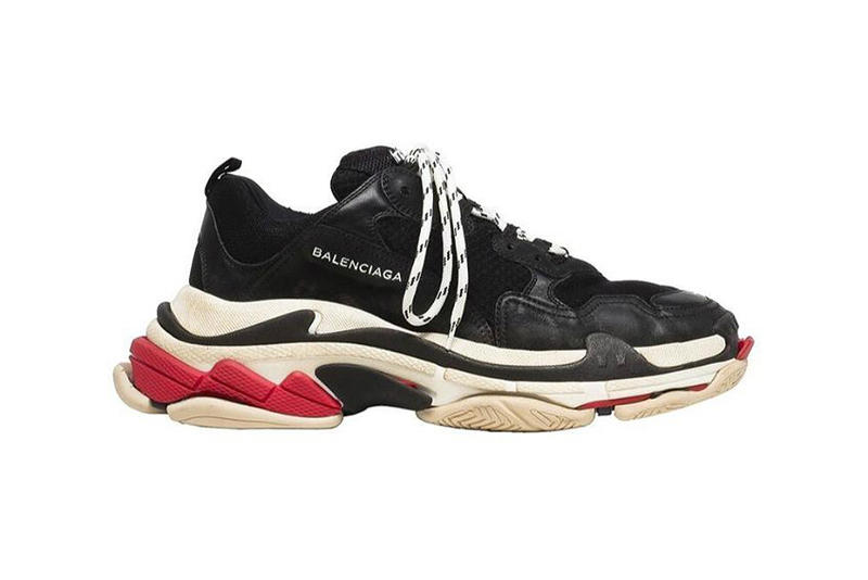Balenciaga Triple-S Sneaker Black Red
