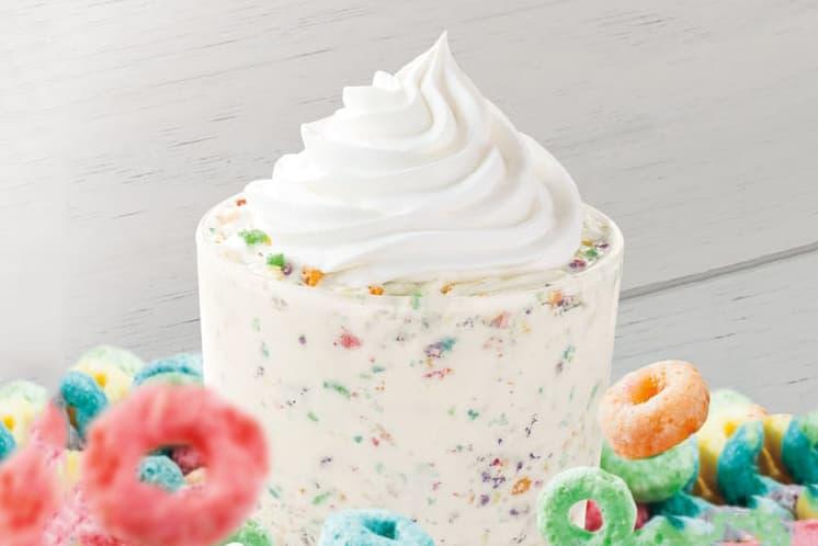 Burger King Froot Loops Milkshake Shake
