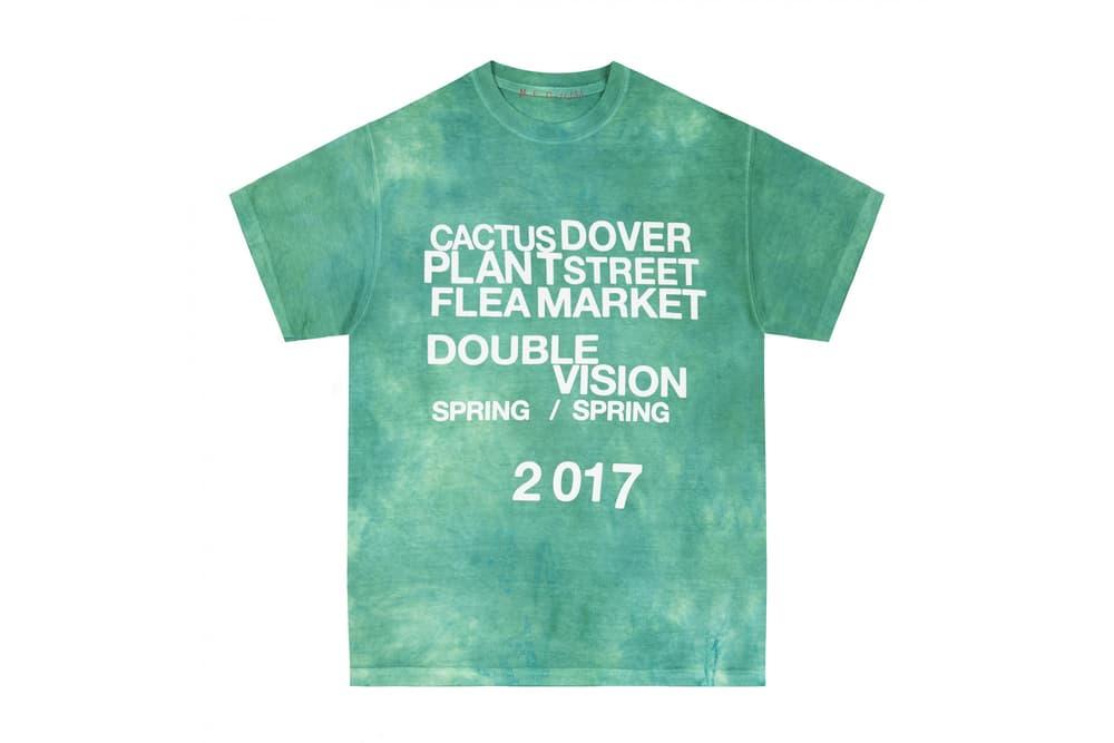 Cactus Plant Flea Market 2017 Spring Summer Tie Dye Shirts