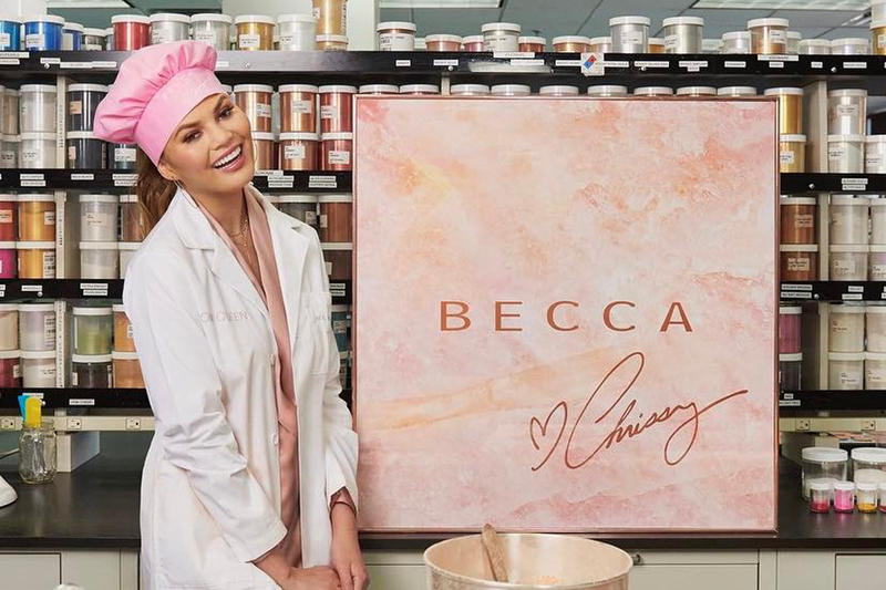 Chrissy Teigen BECCA Cosmetics Collaboration
