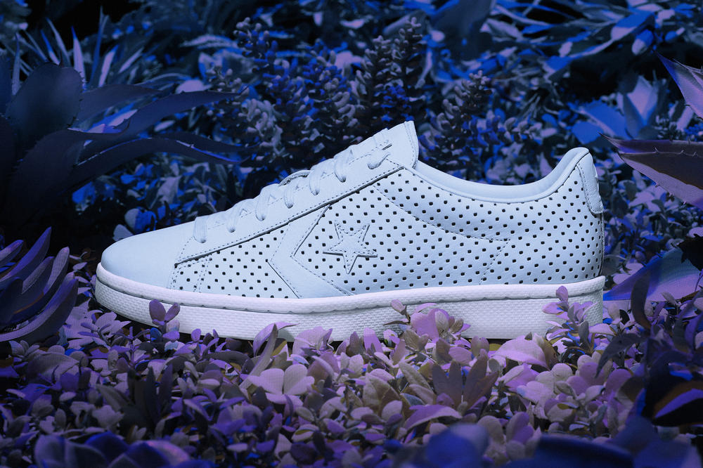 Converse Pro Leather '76 Botanical Garden Pack Pink Blue