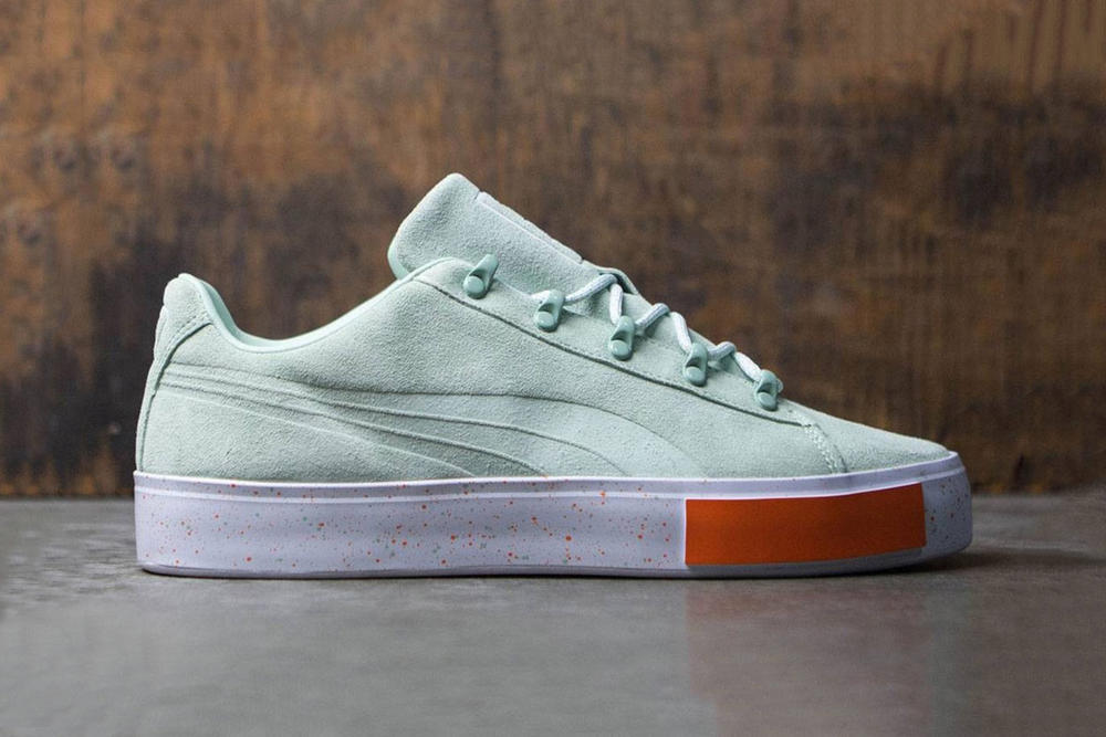 Daily Paper x PUMA Court Platform Green Grey