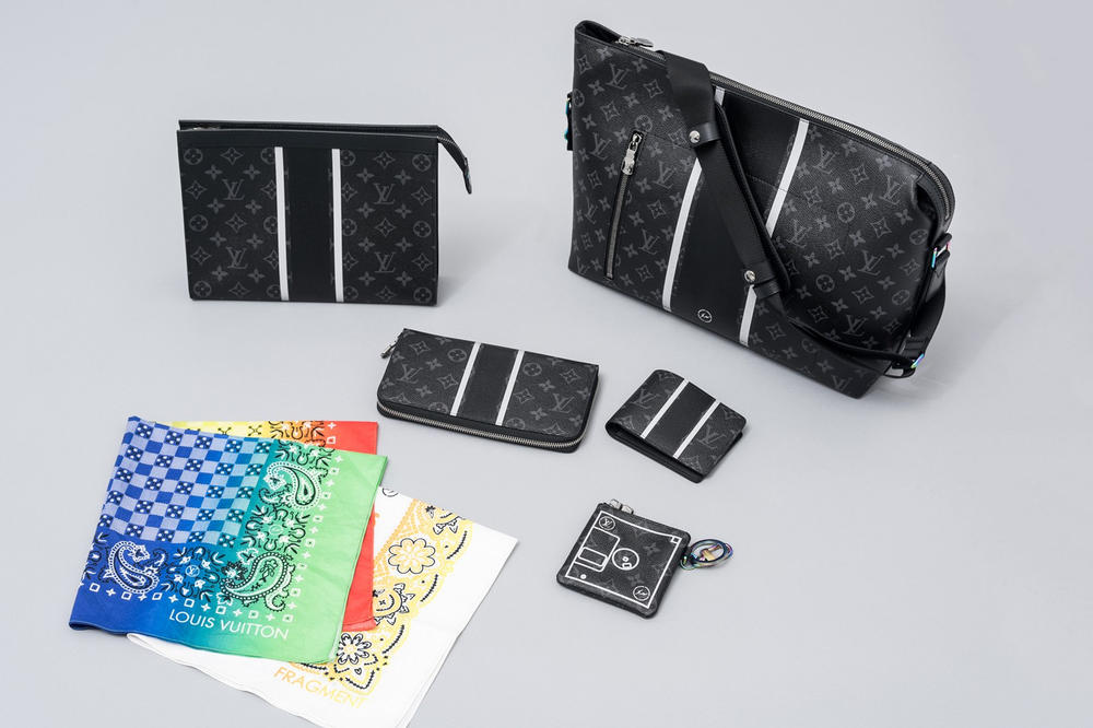 fragment design louis vuitton collaboration collection full pricing list popup location