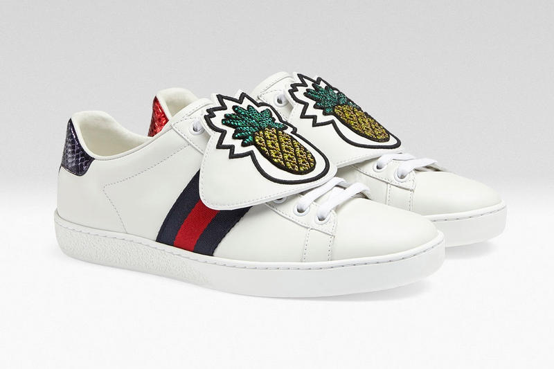 Gucci Ace Sneaker Embroidery Patches