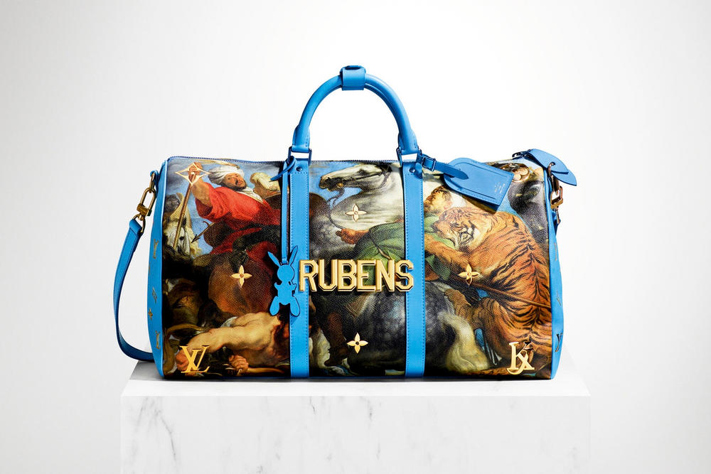Jeff Koons Louis Vuitton 2017 Handbag Collection Mona Lisa