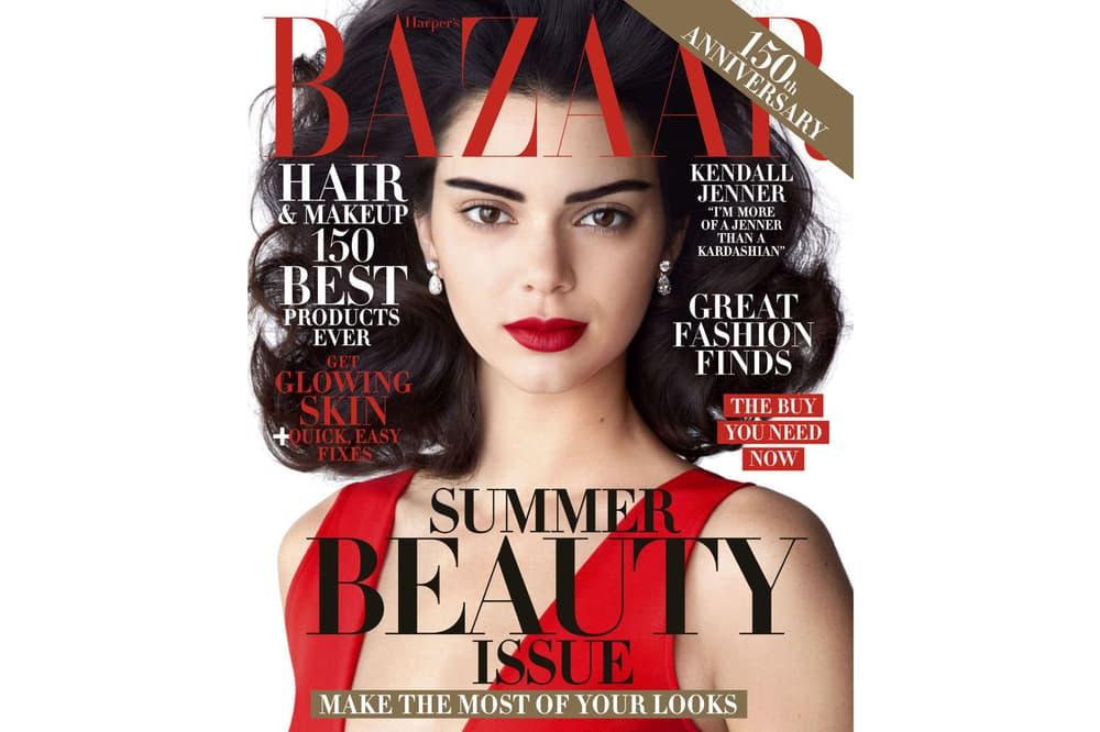 Kendall Jenner May 2017 Harper's Bazaar