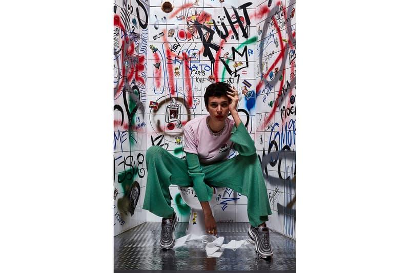 Lorenzo Sampaolesi TOILETS DIARY Editorial Fenty Puma Nike Air Max