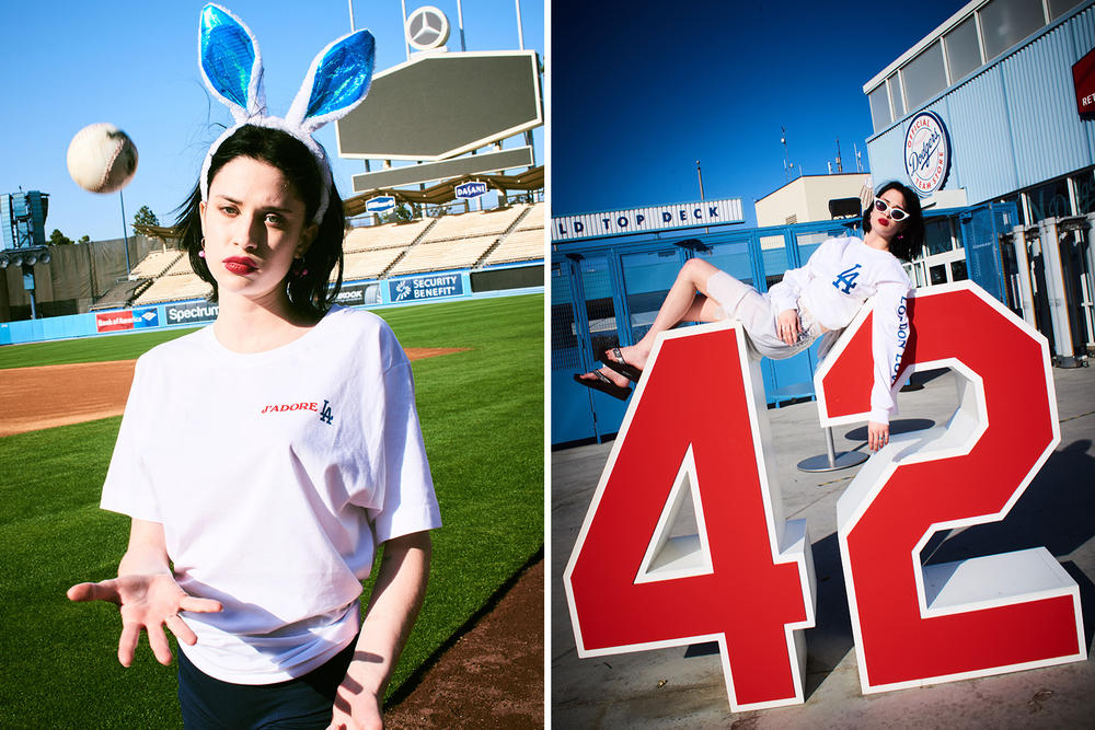 Major League Baseball London Loves LA Collection Lookbook
