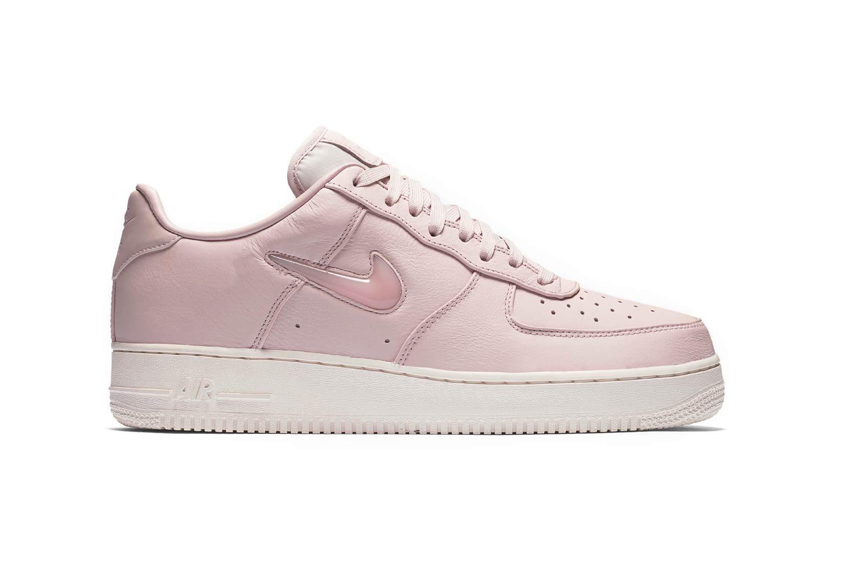 Nike Air Force 1 Jewel Pearl Pink Drops