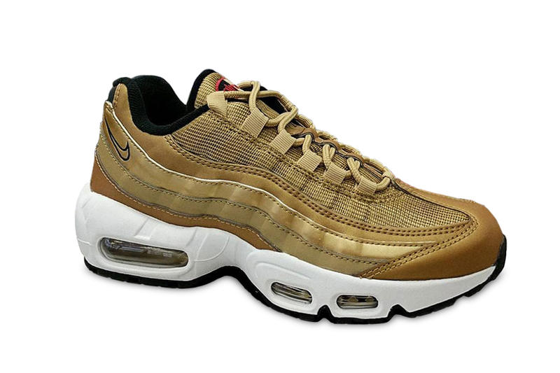 huge discount 6cc7b b6226 Nike Air Max 95 Metallic Gold