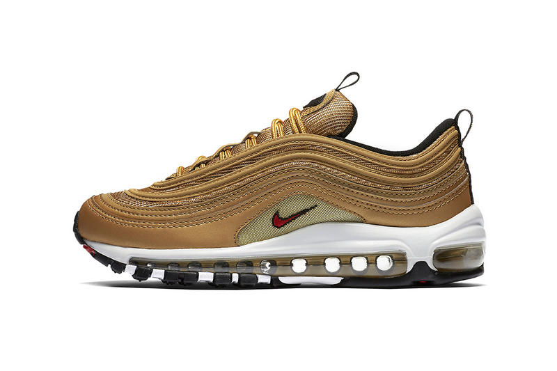 14345ea554ba93 Nike Air Max 97 Gold to Drop in U.S. Next Month