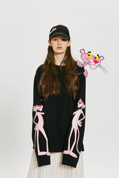 Pink Panther Stereo Vinyls 2017 Collaboration Korean Lookbook Collection