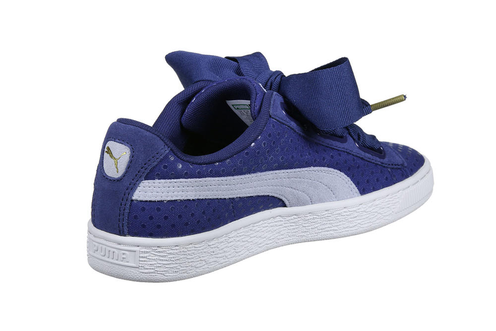 low cost 9f464 b3c6a PUMA Basket Heart Denim in