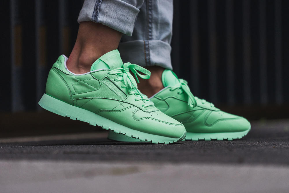 Reebok Classic Leather Mint Green