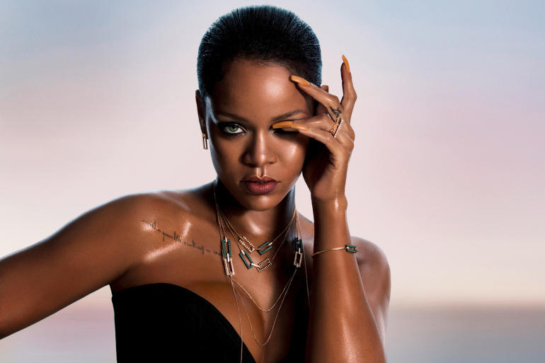 Rihanna Chopard Jewelry
