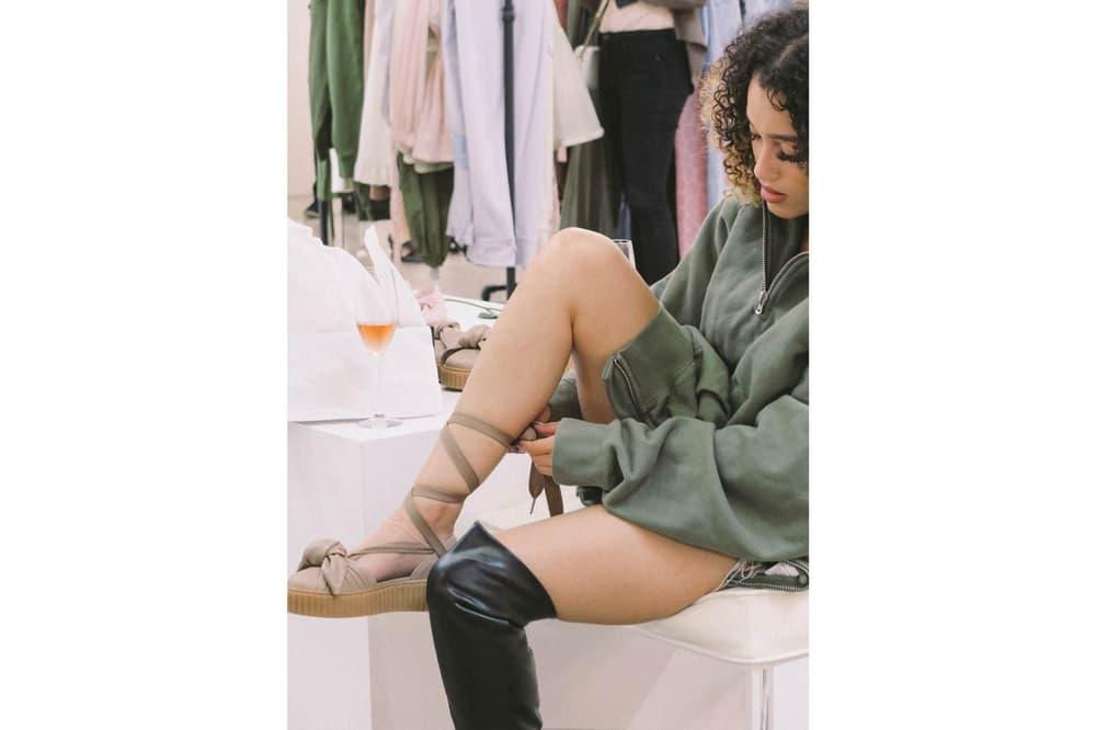 Rihanna Fenty x PUMA Bow Creeper