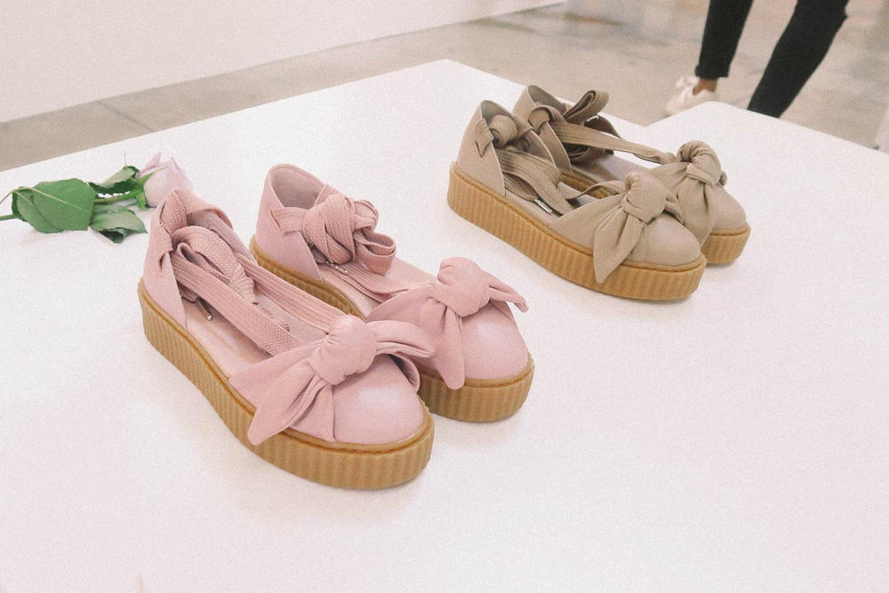 wholesale dealer ea954 46007 Rihanna Fenty PUMA Ballet-Like Creepers | HYPEBAE