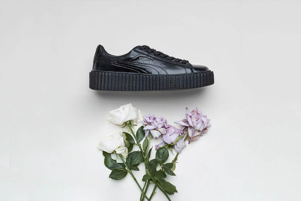 Rihanna Fenty PUMA Creeper Leather Pack Black White