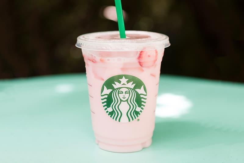 Starbucks Pink Drink Year-Round Menu