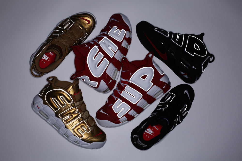 Supreme x Nike Air More Uptempo Official Release