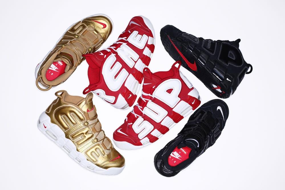 32e3c88544 Supreme x Nike Air More Uptempo May Restock | HYPEBAE