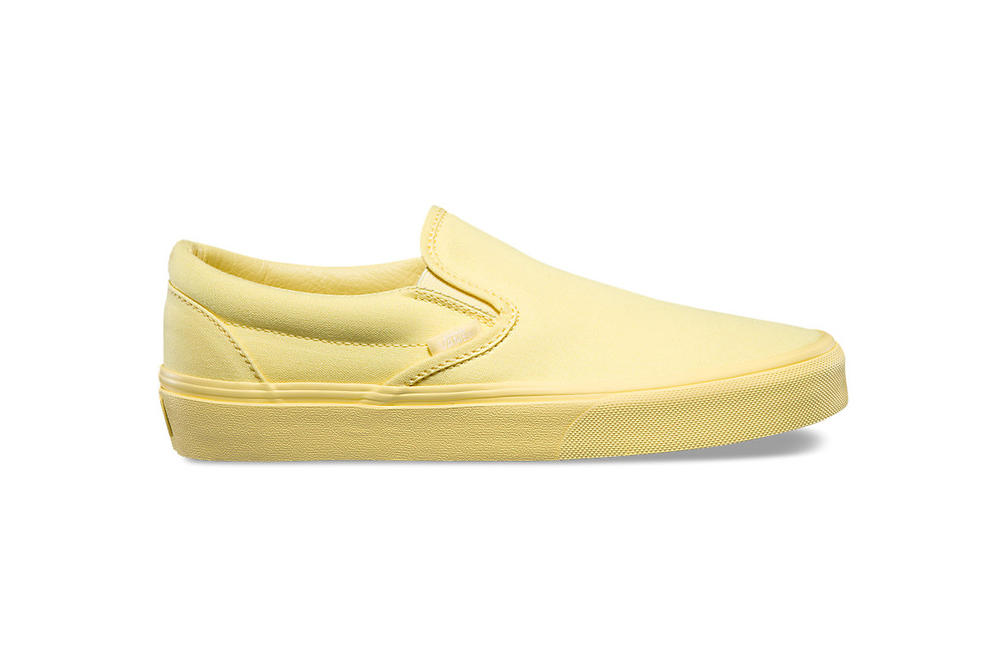 Vans Authentic Slip-On Old Skool Monochromatic Pastel Womens