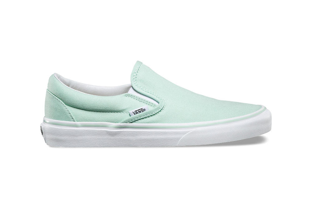 Vans Minty Bay Blue Sk8-Hi Authentic Slip-On