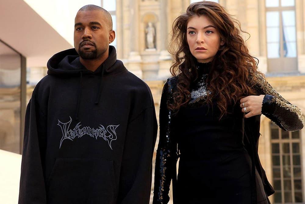 Lorde Kanye West