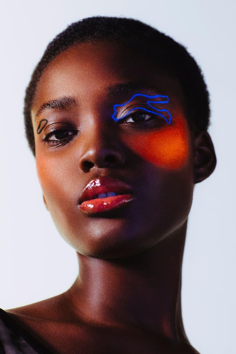 3INA UV makeup bright neon fluorescent fluoro cosmetics collection