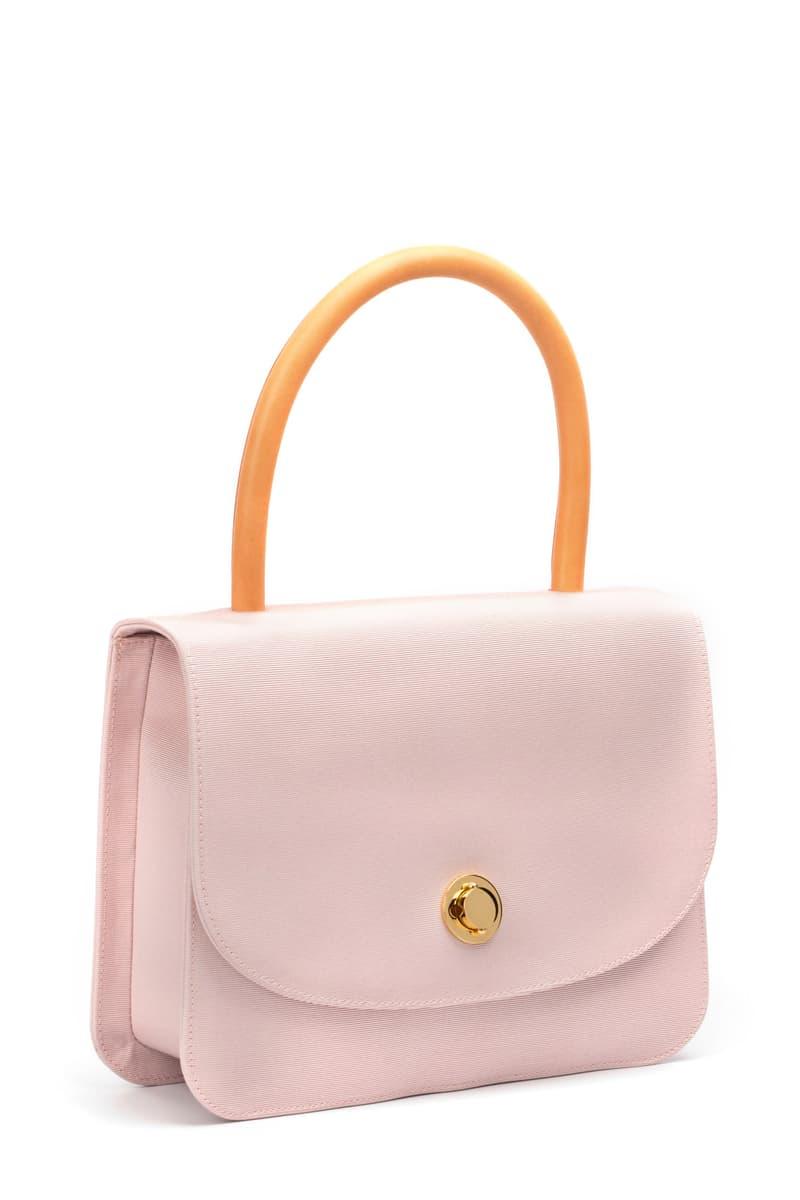 Mansur Gavriel pastel metropolitan bag rosa sky blue