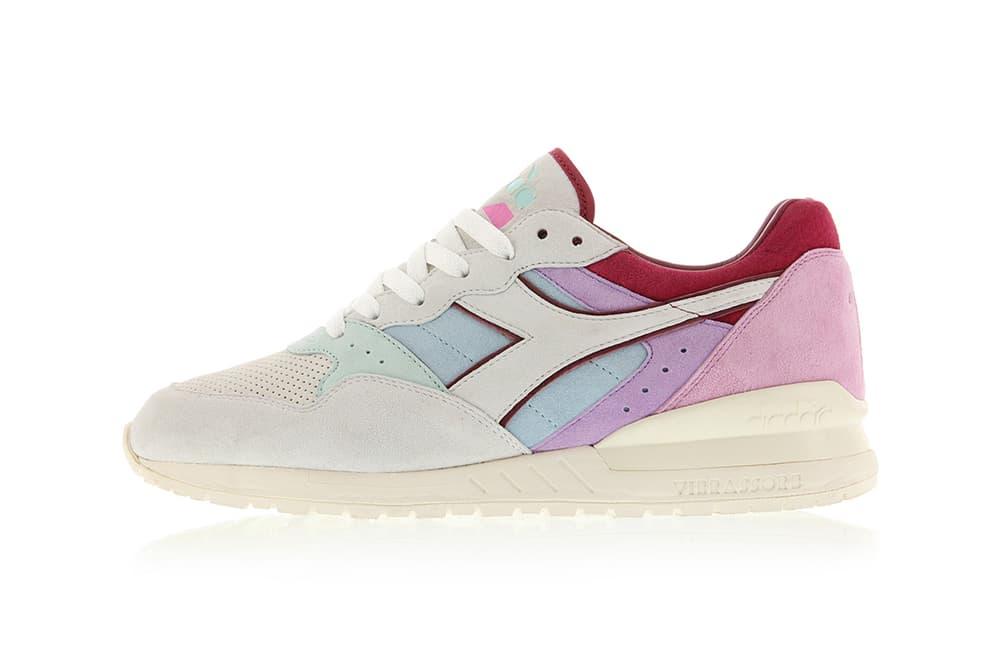 Titolo Diadora Pastel Sneaker Collaboration