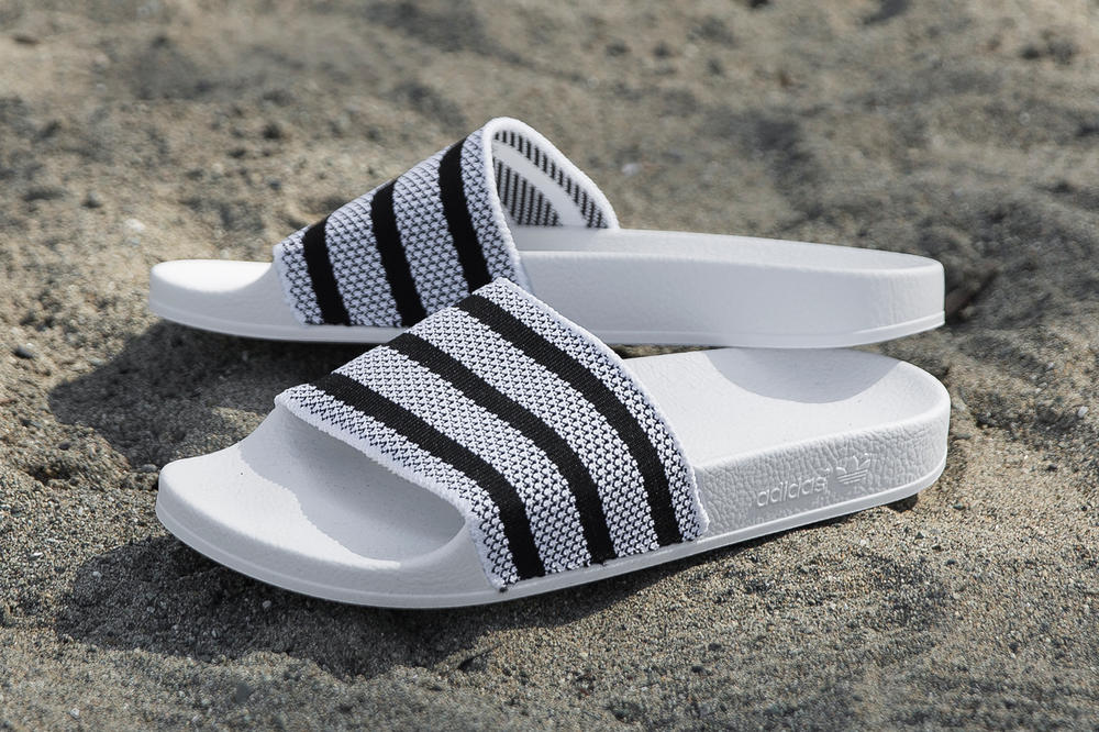 d99ebf13f97bf adidas Adilette Made Cozy Primeknit Slides