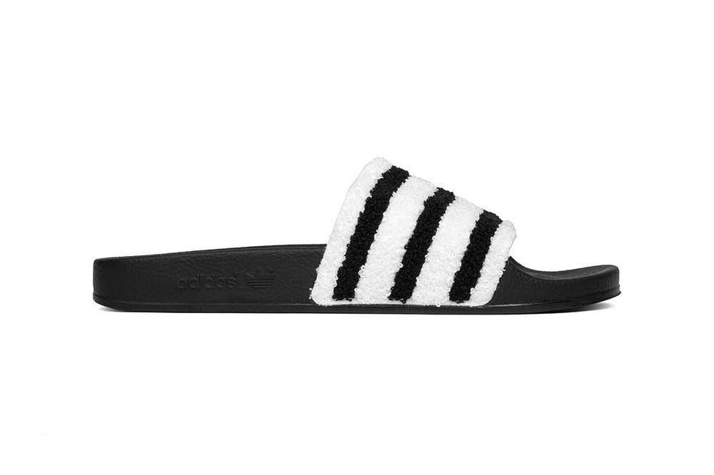 adidas Adilette Sweatband Slide Black White