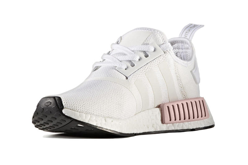 adidas Originals NMD R1 White Rose Pink
