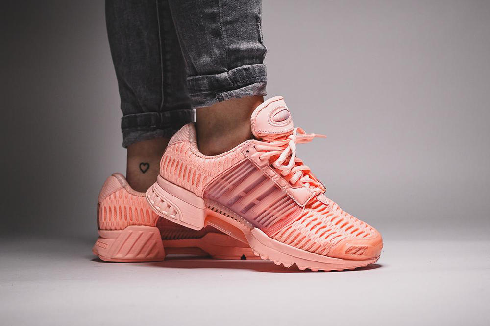 new style aea4a 36d82 adidas Originals Climacool 1 Haze Coral womens exclusive sneaker pastel  peach