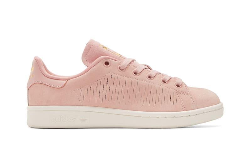 adidas Originals Stan Smith Pastel Pink Suede Coral Haze dbd69beda