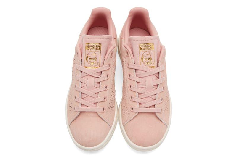 adidas Originals Stan Smith Pastel Pink Suede Coral Haze