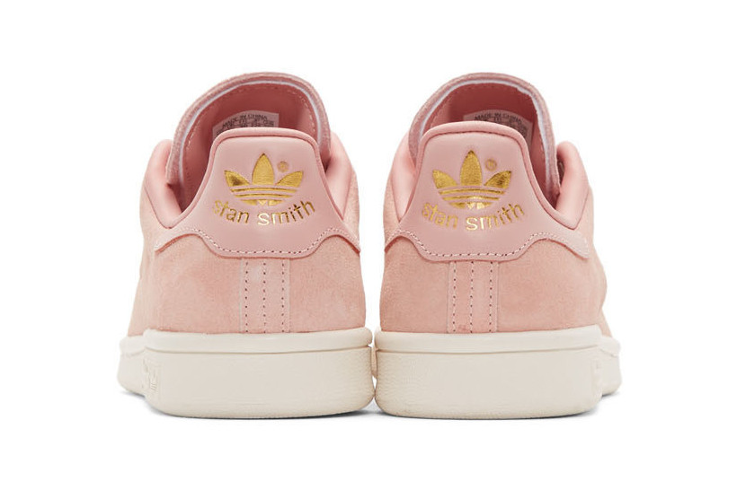 pink suede adidas