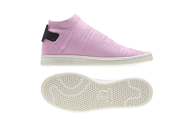 adidas Originals Stan Smith Sock Primeknit White Pink