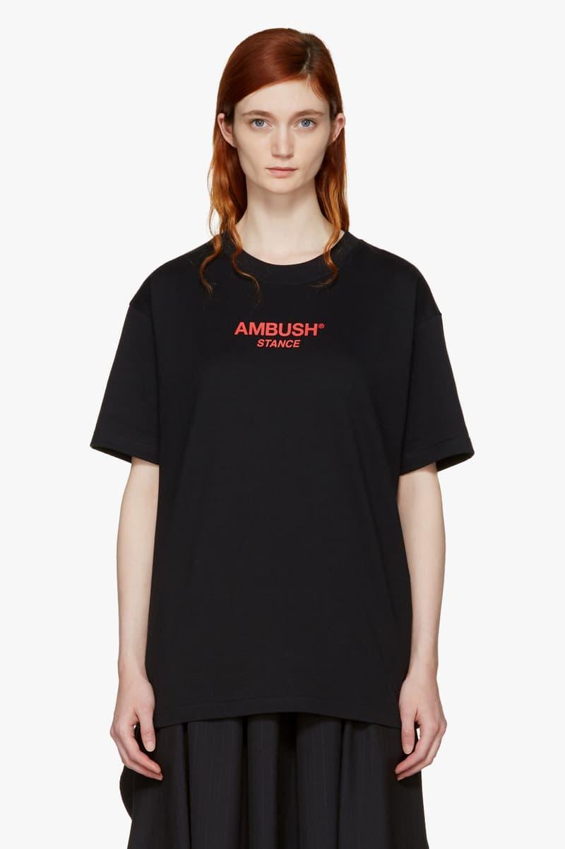 ambush tshirts tees exclusive ssense