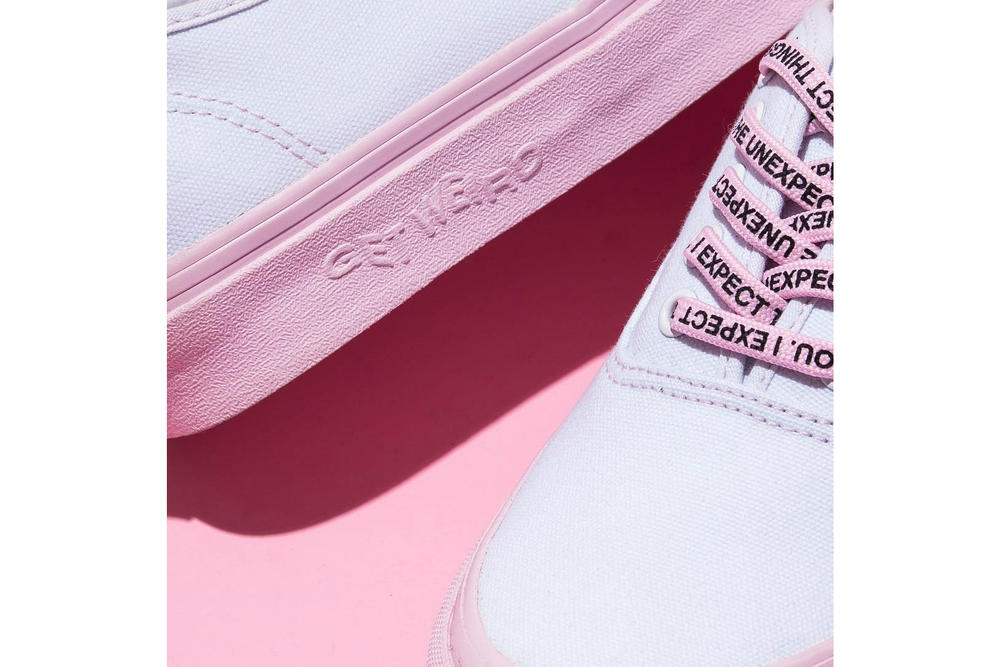 Anti Social Social Club x Vans x DSM Authentic Pink White