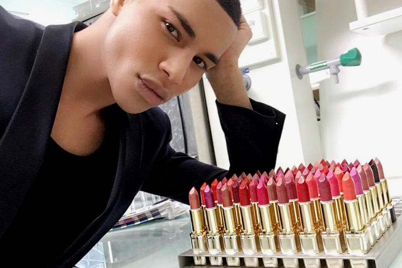 Balmain L'Oréal Lipstick Collection Collaboration Olivier Rousteing