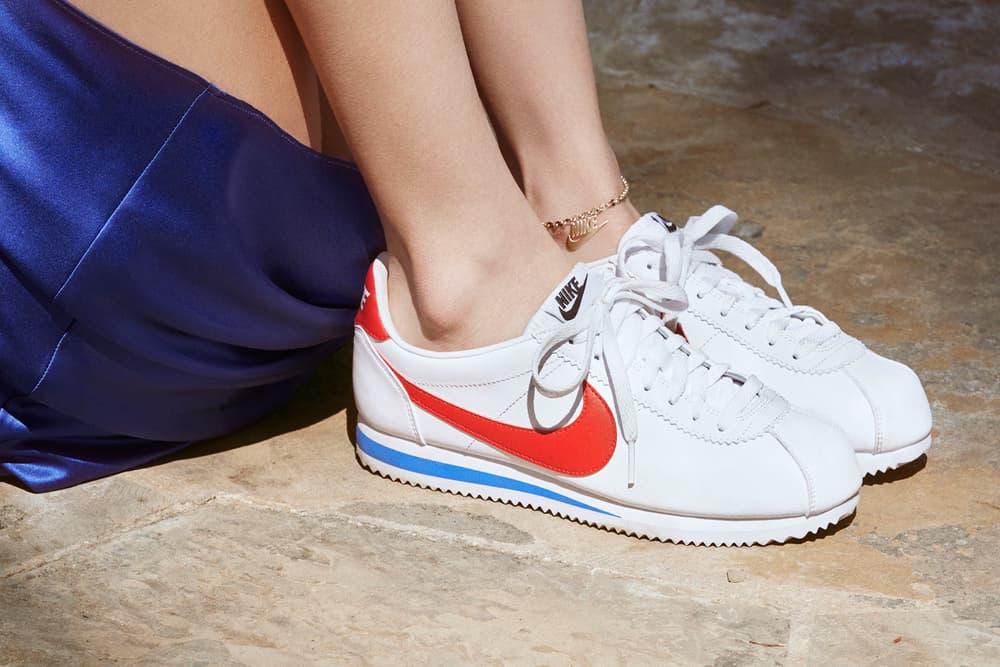 Bella Hadid Nike Cortez Campaign 2017