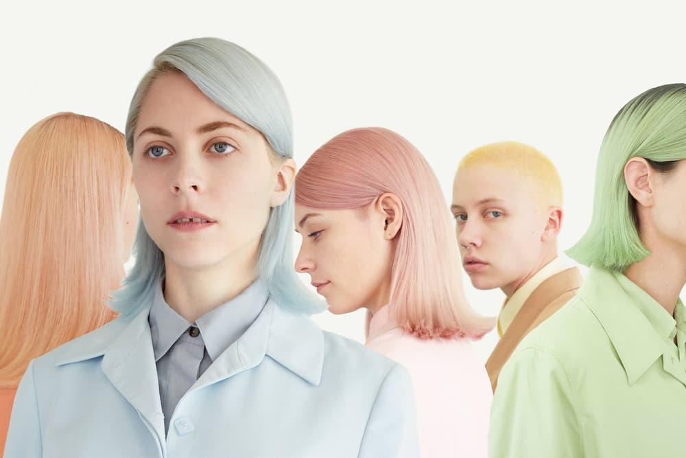 Pastel Hair Color Temporary Mask Moody Girls BENJAMIN Mohapi Haircare