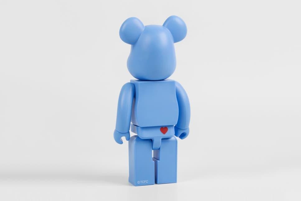 care bears bearbricks colette medicom toy figurines cheer grumpy bear