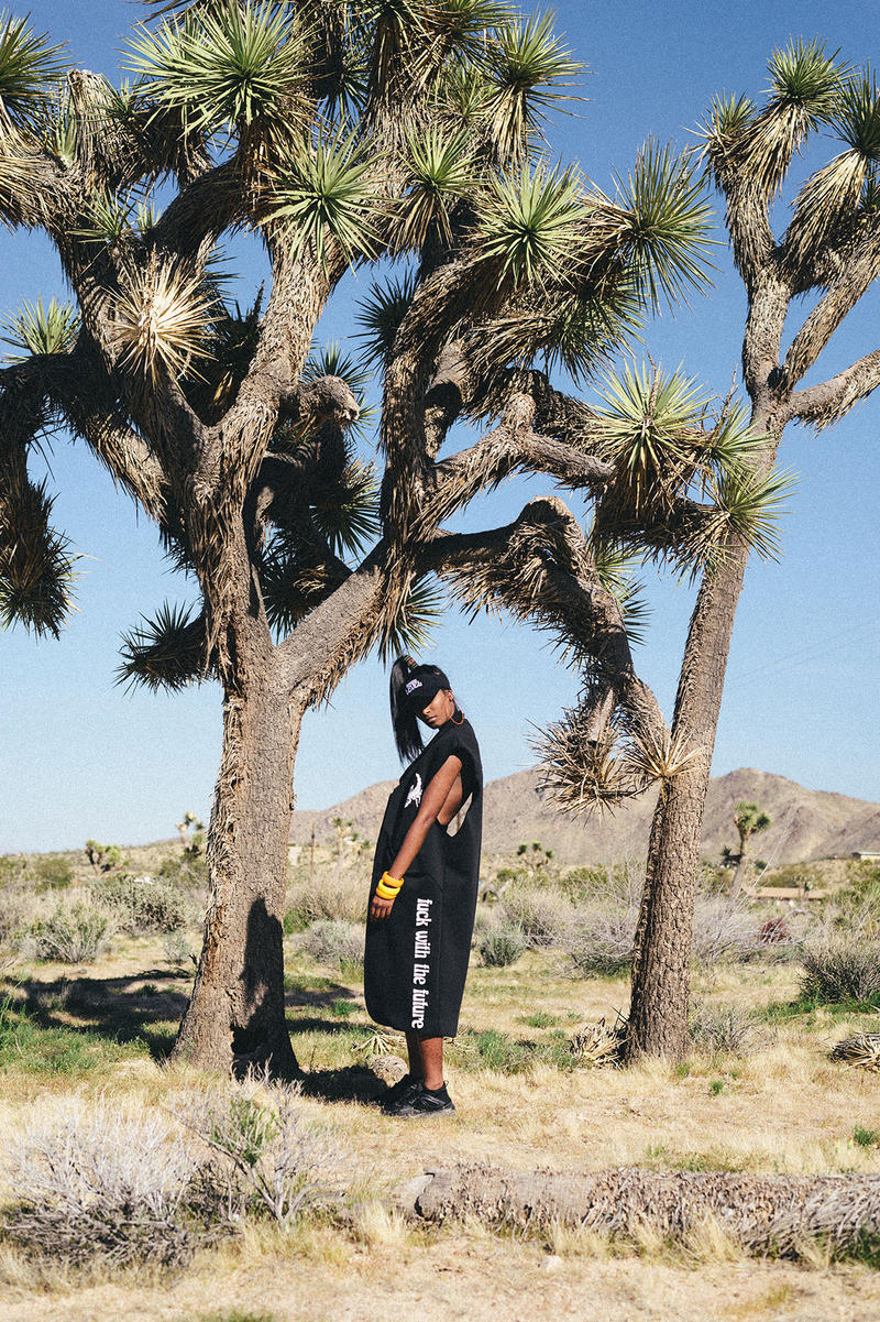 Dimepiece LA 2017 Summer Lookbook joshua tree