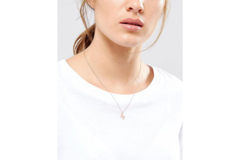 Dogeared ASOS 10th anniversary Life is Magical Unicorn Necklace