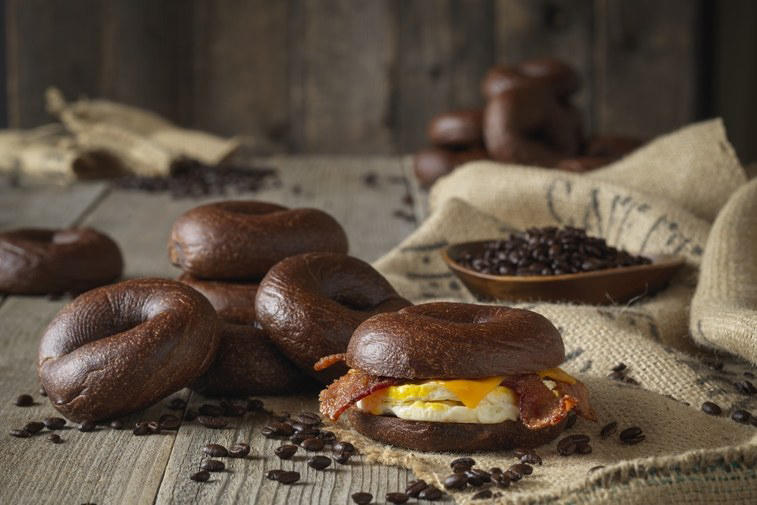 espresso buzz bagel einstein bros coffee breakfast