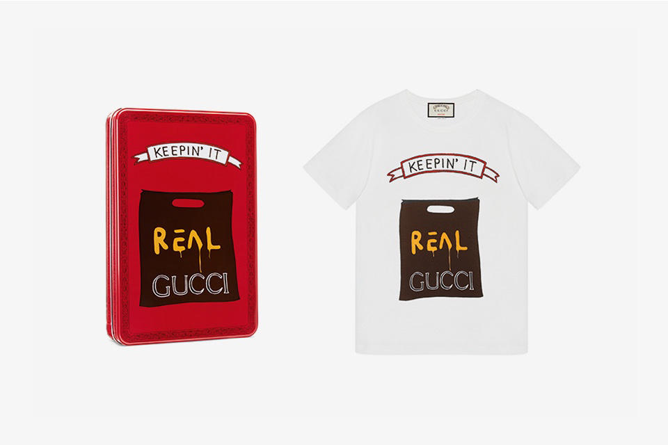 Gucci Angelica Hicks 2017 T-Shirt Collaboration