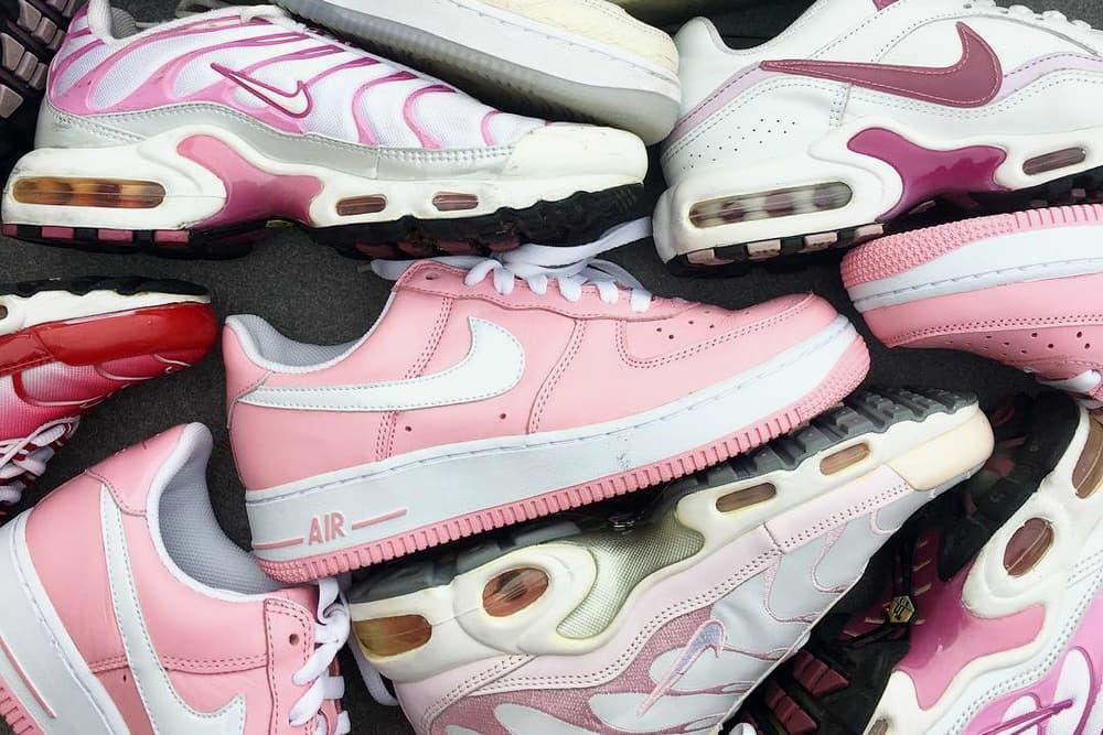 Millennial Pink Sneaker adidas NMD Nike VaporMax Reebok Club C PUMA Suede
